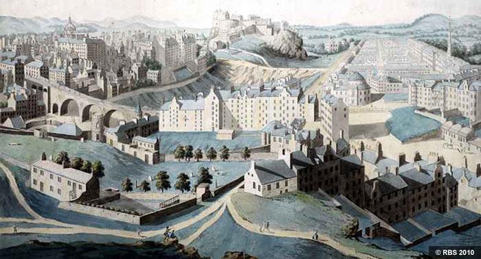 Besuch In Edinburgh 1784