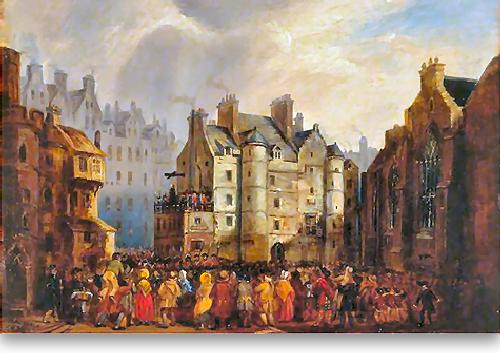 Besuch In Edinburgh 1786-88