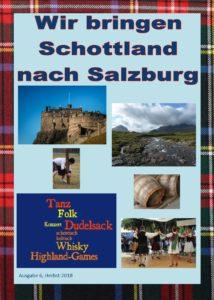 Zeitschrift Wir bringen Schottland nach Salzburg Herbst 2018