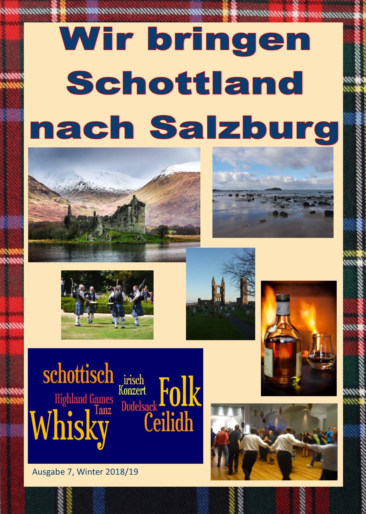 Schottland Zeitschrift Winter 2018/19
