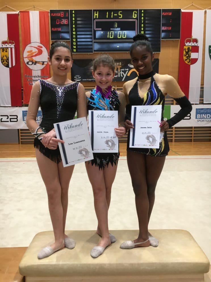 Gymnastinnen Bei Der Bundesmeisterschaft