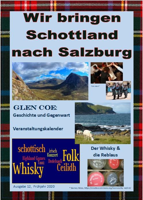 """Zeitschrift """"Wir Bringen Schottland Nach Salzburg"""""""