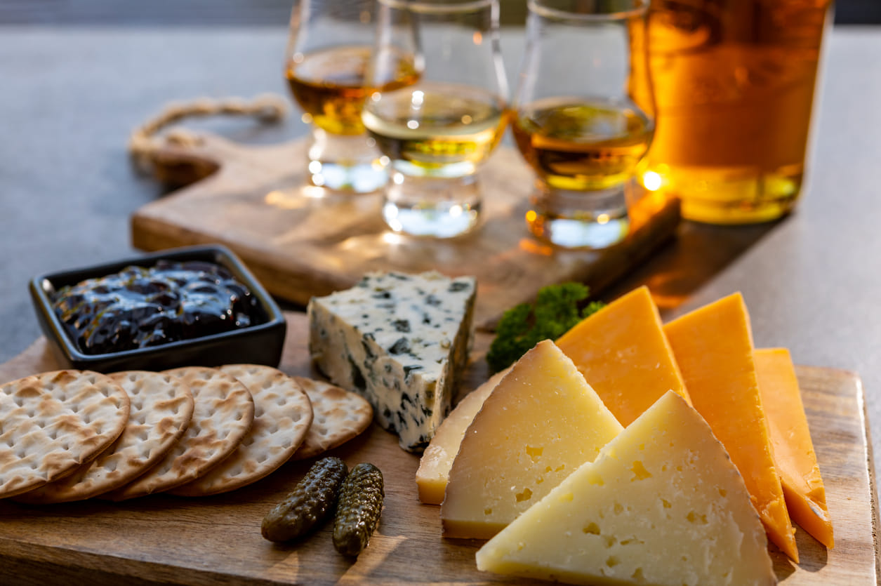 Whisky Käse
